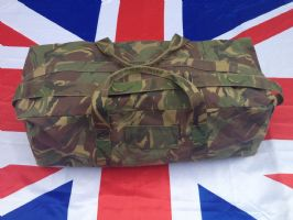 LARGE DUCTCH CAMO HOLDALL WATERPROOF